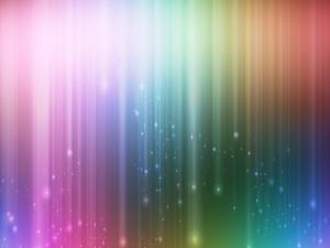 Lluvia de luz y color
