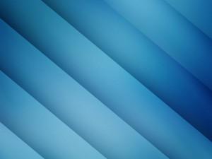 Postal: Franjas azules