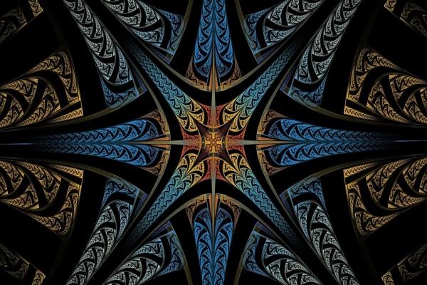 Estrellas formando una imagen