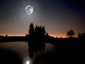 Postal: Luz de luna