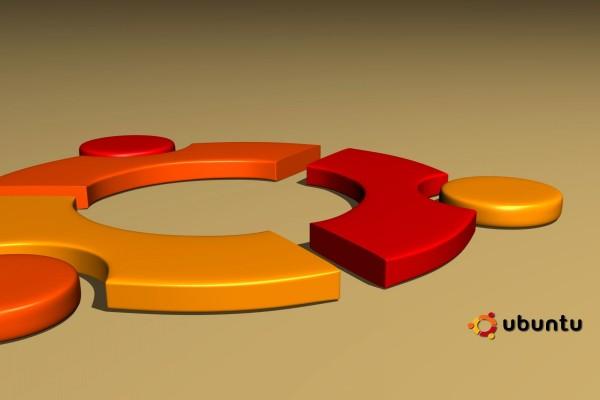 Logo de Ubuntu en 3D