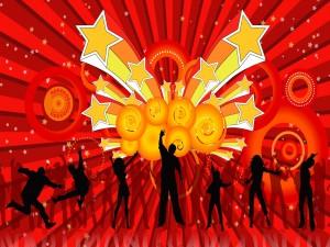 Personas danzando al ritmo de la música