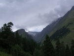 Nubes sobre las montañas
