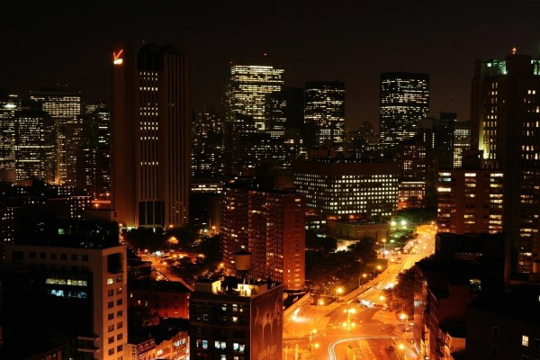 El centro de Manhattan