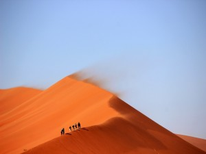 Postal: Cruzando el desierto