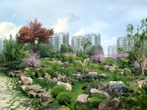 Jardines en la ciudad