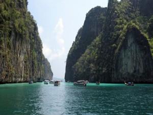 Postal: Excursión por las islas Phi Phi (Tailandia)