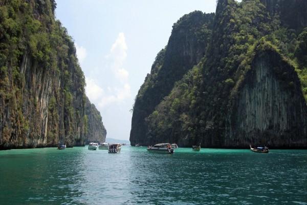 Excursión por las islas Phi Phi (Tailandia)