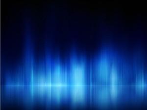 Líneas claras en un fondo azulado