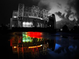 Estadio del Manchester United