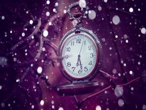 Postal: Bonito reloj