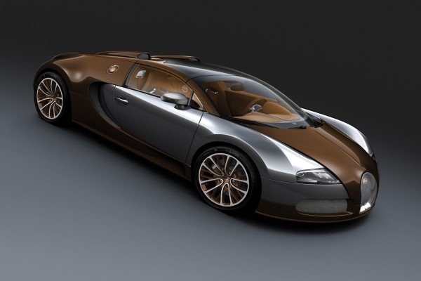 Un elegante Bugatti Veyron