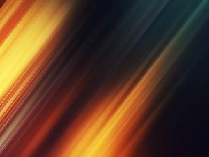 Imagen digital con líneas anaranjadas