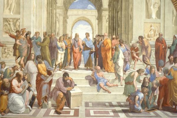 La escuela de Atenas (Rafael Sanzio)