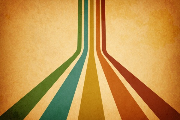 Cinco líneas de diferente color