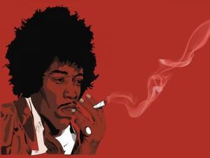 Postal: Imagen de Jimi Hendrix