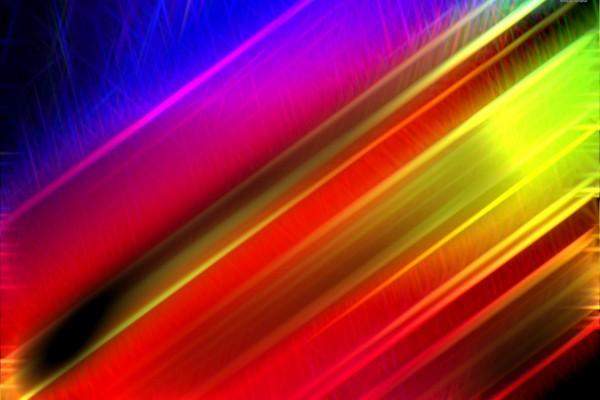 Líneas diagonales multicolor