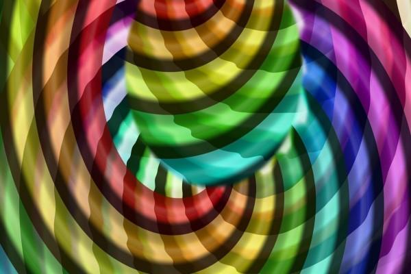 Círculos superpuestos