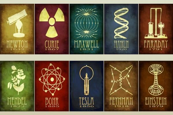 Fechas de nacimiento de notables científicos