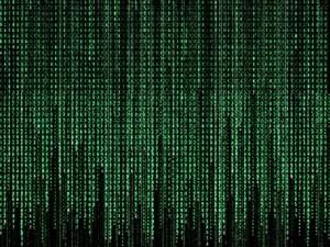 Números, letras y caracteres en una computadora