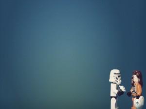Postal: Soldado imperial enamorado