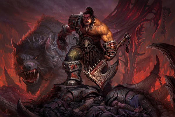 "Grommash ""World Of Warcraft: Warlords of Draenor"""
