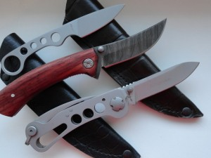Postal: Modelos de cuchillas