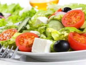 Postal: Ensalada de verduras nutritiva