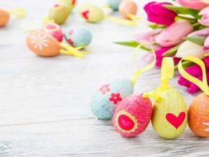 Huevos decorativos para Pascua