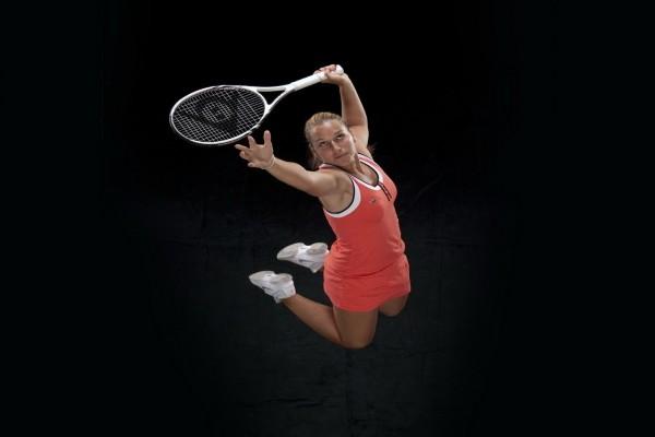 La tenista Dominika Cibulková