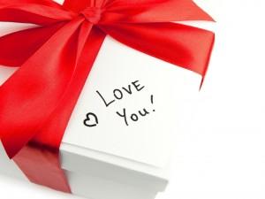 Postal: Mensaje de amor