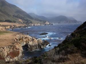 Postal: Nubes sobre la costa