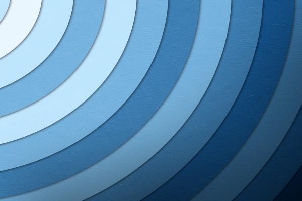 Círculos azules formando un único círculo