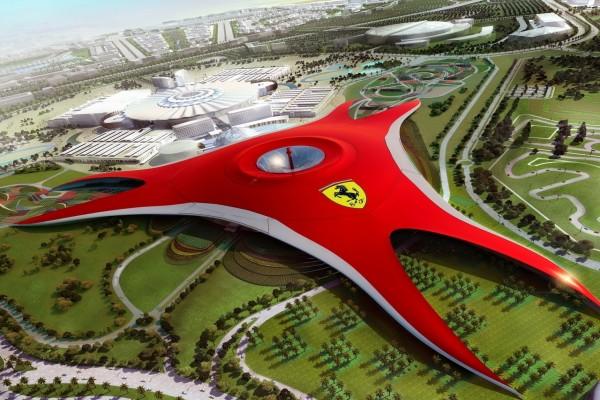 Parque temático Ferrari World de Abu Dhabi