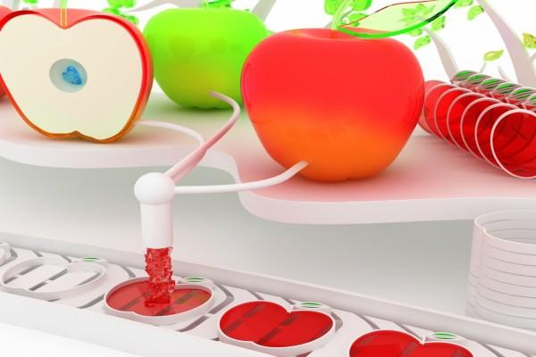 Inyectando color a las manzanas