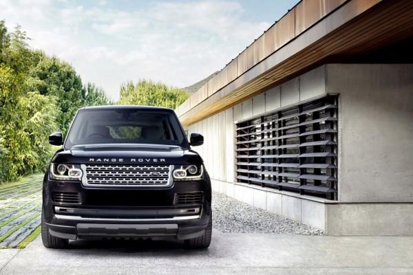 Un Range Rover negro