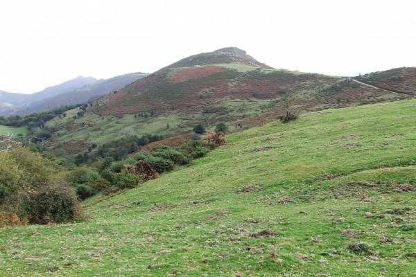 Montañas en la Sierra del Sueve (Asturias)