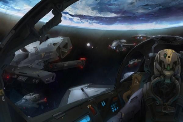 Pilotando una nave espacial en Destiny