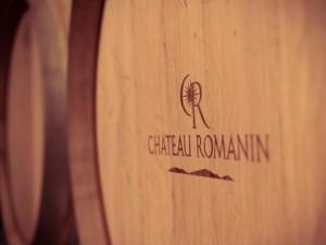 Barricas de vino Chateau Romanin