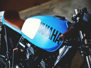 Una antigua Yamaha