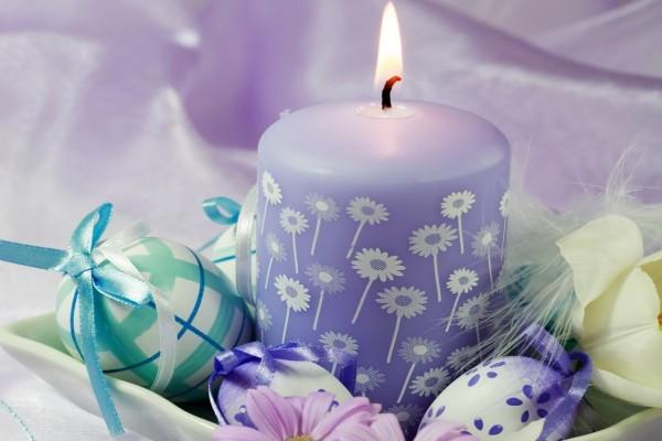 Elemento decorativo para festejar Pascua