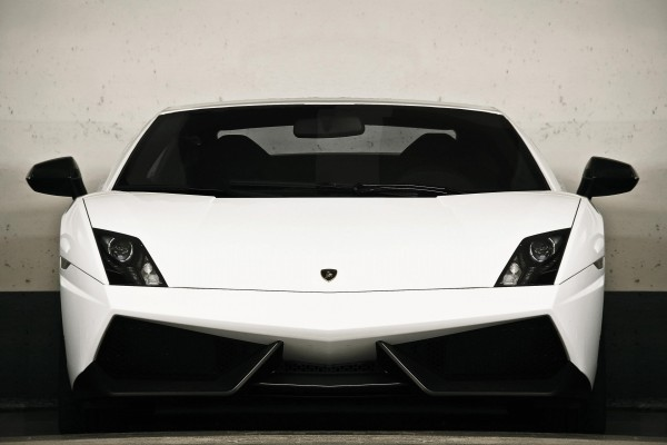 Frontal de un Lamborghini Gallardo LP 570-4 Superleggera