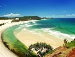 Hermosa playa virgen