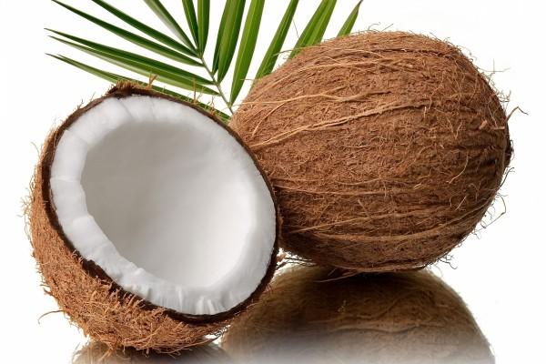 Un refrescante coco