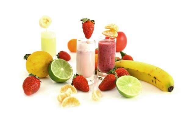 Ricos batidos de frutas