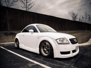 Audi TT blanco