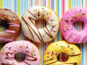 Ricos donuts glaseados