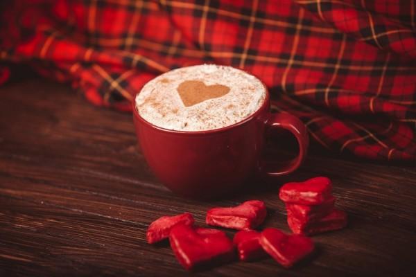 Un cappuccino con mucho amor