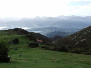 Bonitas vistas de los Picos de Europa (Asturias)