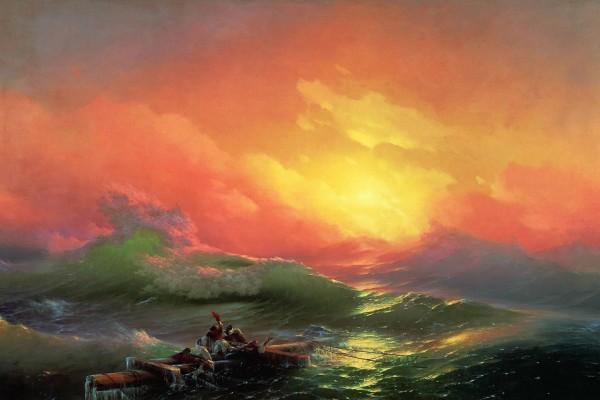 Novena ola (pintura de Iván Aivazovski)